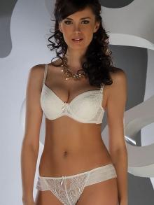 Biustonosz Nipplex Victoria perłowy