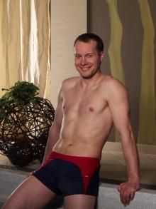 Kąpielówki Marko David granatowo-bordowe