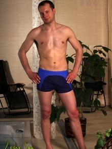 Kąpielówki Marko David granatowo-ciemno niebieskie