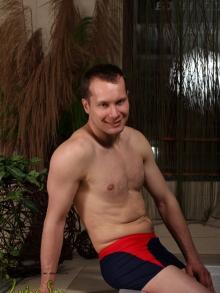 Kąpielówki Marko Davidgranatowo-czerwone