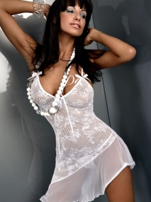 Komplet Livia Corsetti Inez biała