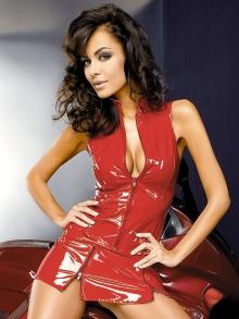Komplet Obsessive Ferraria vest skirt