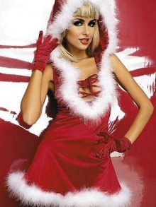 Komplet Obsessive Santa Lady dress