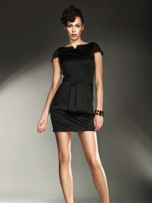 Sukienka Nife s11 Czarna