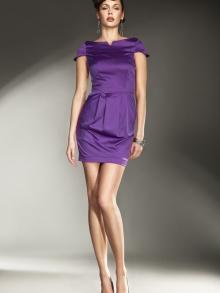 Sukienka Nife s11 Fiolet