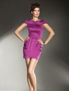 Sukienka Nife s11 Fuksja