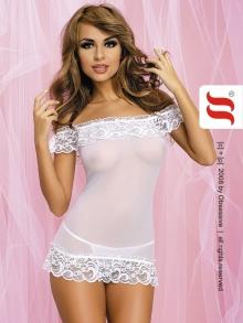 Koszula Nocna Obsessive Amoresa chemise white