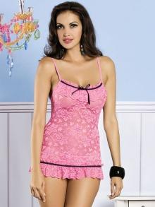 Koszula Nocna Obsessive Curacao pink