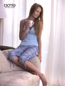 Piżama Esotiq Scarlet 22338-06
