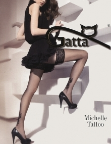 Pończochy Gatta Michelle Tattoo 13