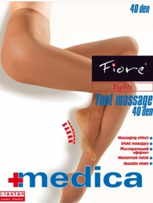 Rajstopy Fiore Foot massage 40