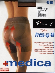Rajstopy Fiore Press up 40