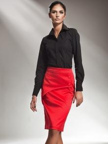 Spódnica Nife sp10 Czerwona