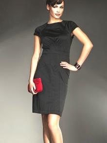 Sukienka Nife s10 Czarna