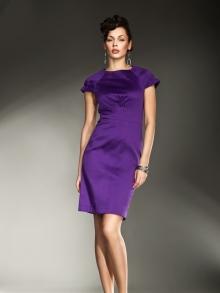 Sukienka Nife s10 Fiolet