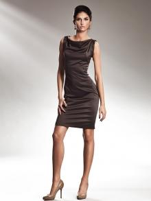 Sukienka Nife s15 Brąz