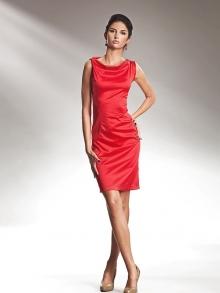 Sukienka Nife s15 Czerwony
