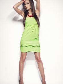 Sukienka OnaStyl Saly zielona